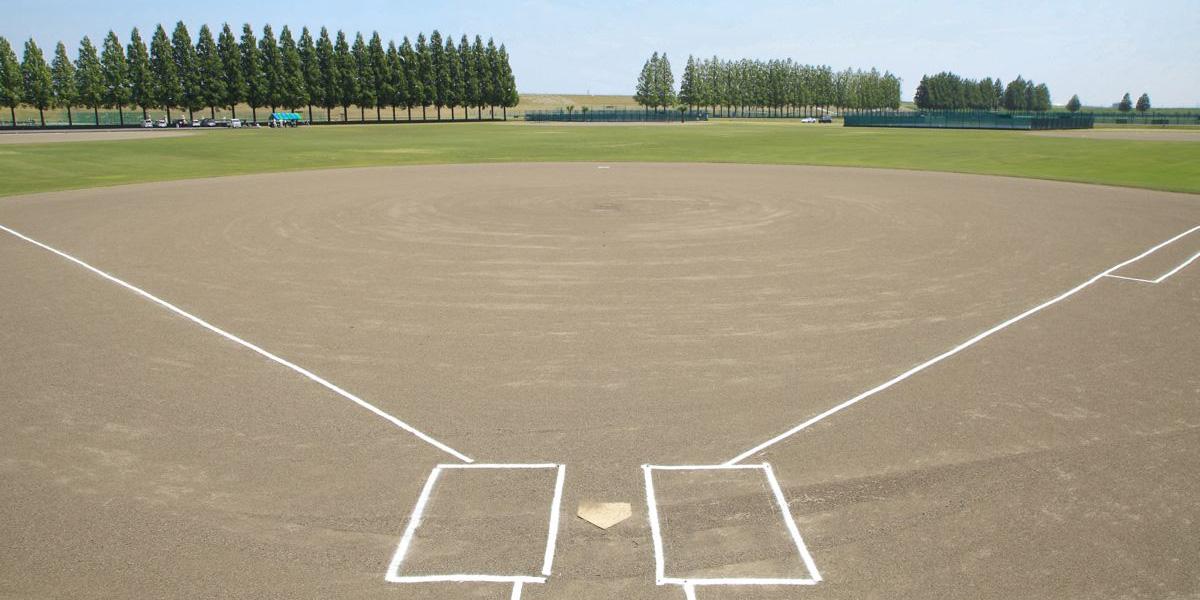 野球場 バッターボックス