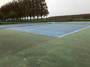 テニスコートの写真2